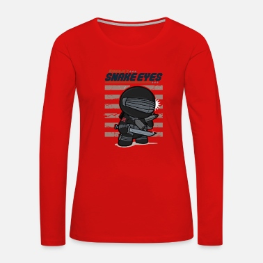 Snake Eyes Snake Eyes - Women's Premium Long Sleeve T-Shirt