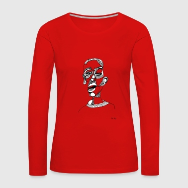 psychedelish - Women's Premium Long Sleeve T-Shirt