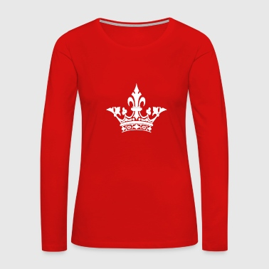 The crown Funny - Women's Premium Long Sleeve T-Shirt
