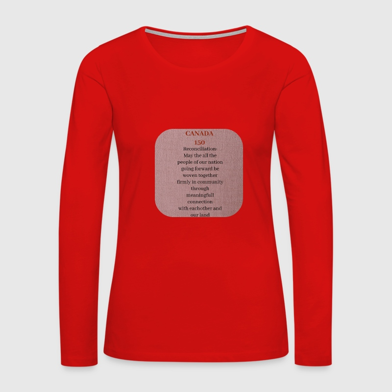 Canada 150 - Women's Premium Long Sleeve T-Shirt