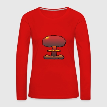 explosion - Women's Premium Long Sleeve T-Shirt
