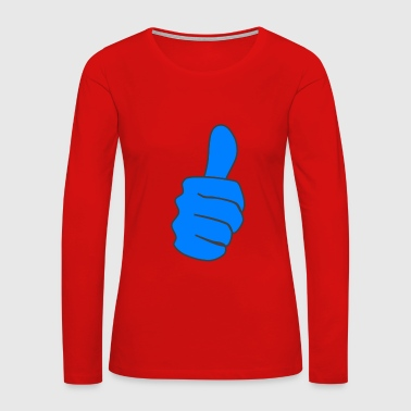 Thumbs thumb - Women's Premium Long Sleeve T-Shirt