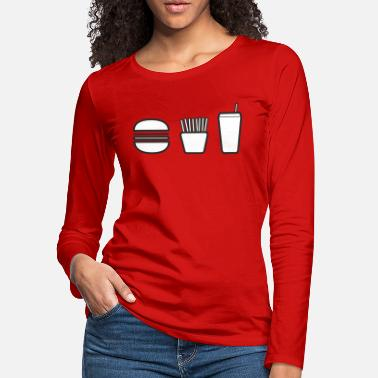Meal happy meal. - Women's Premium Longsleeve Shirt