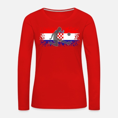 Croatia Croatia Football Soccer - Women's Premium Long Sleeve T-Shirt