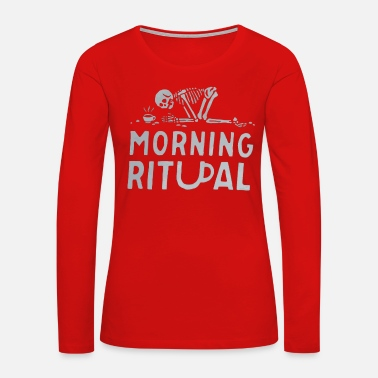 Ritual Morning Ritual - Women's Premium Long Sleeve T-Shirt