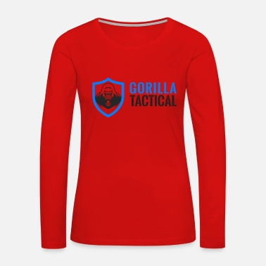 Tactical Gorilla Tactical - Women's Premium Long Sleeve T-Shirt