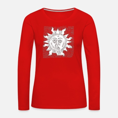 Sun Signs Sun Sun - Women's Premium Long Sleeve T-Shirt