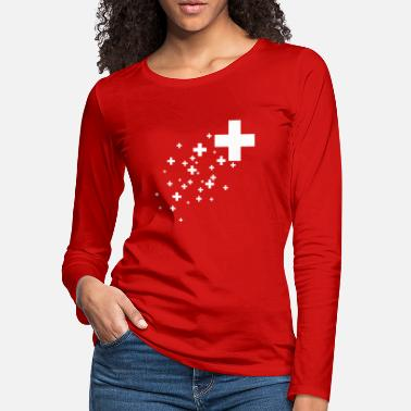 Switzerland Swiss Cross - Women's Premium Longsleeve Shirt