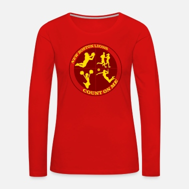 Count Royal Count on Me Gold - Women's Premium Long Sleeve T-Shirt