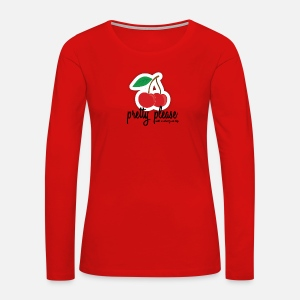 Pretty Please With A Cherry On Top Shirt By Nosuchbrand Spreadshirt