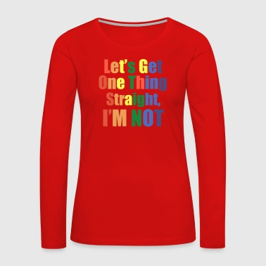 Michael Gay - Women's Premium Long Sleeve T-Shirt