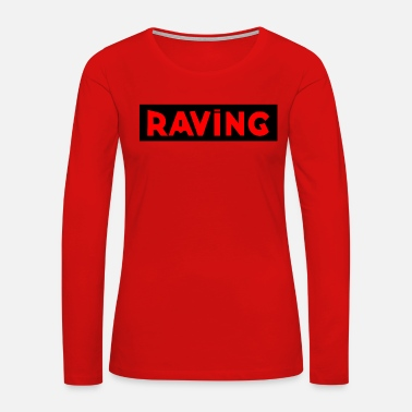 Jumpstyle RAVING black - Women's Premium Long Sleeve T-Shirt