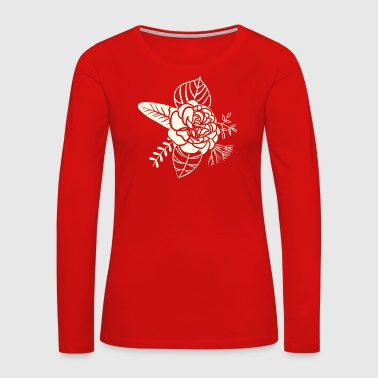Date Flower - Women's Premium Long Sleeve T-Shirt