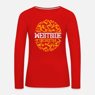Orchestra WESTSIDE ORCHESTRA - Women's Premium Long Sleeve T-Shirt