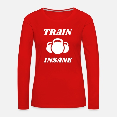 Six Pack weights health fitness muscle lifting body - Women's Premium Long Sleeve T-Shirt