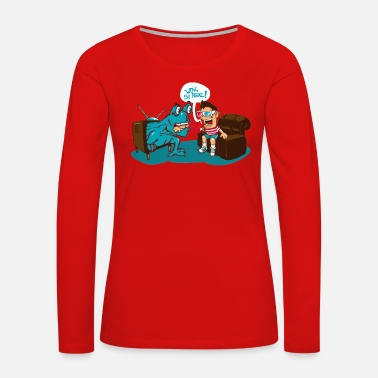 3d 3D - Women's Premium Long Sleeve T-Shirt