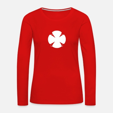 Clover-leaves clover - Women's Premium Long Sleeve T-Shirt