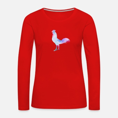 Hen HEN - Women's Premium Long Sleeve T-Shirt