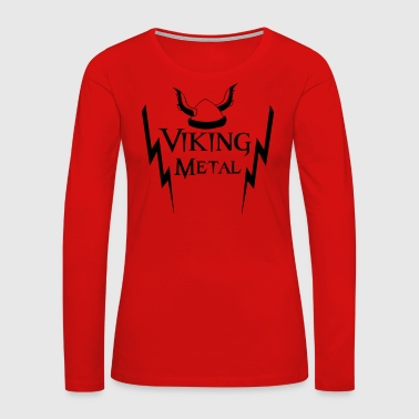 Viking Metal Viking Metal - Women's Premium Long Sleeve T-Shirt