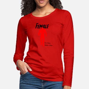 female hero - Women's Premium Longsleeve Shirt