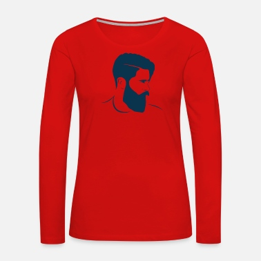 Hairstyle hairstyle - Women's Premium Long Sleeve T-Shirt