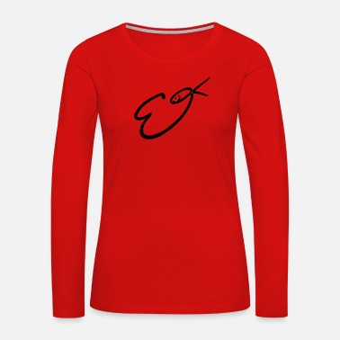 Signature Signature - Women's Premium Long Sleeve T-Shirt