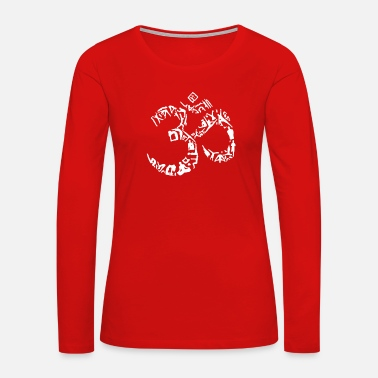 Symbol out of Yoga Poses - Women's Premium Long Sleeve T-Shirt