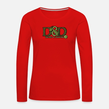 Deity Deities And Demons - Women's Premium Long Sleeve T-Shirt