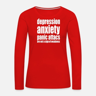 Depressed depression - Women's Premium Long Sleeve T-Shirt