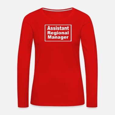 Region Assistant to the regional manager - Women's Premium Long Sleeve T-Shirt