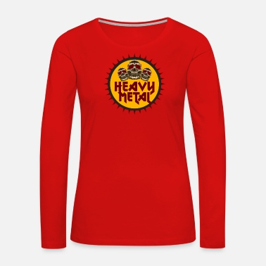 Heavy Metal Heavy Metal - Women's Premium Long Sleeve T-Shirt