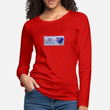 Pray For New Zealand - Women's Premium Longsleeve Shirt