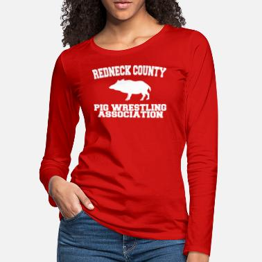 Red Neck red neck - Women's Premium Longsleeve Shirt