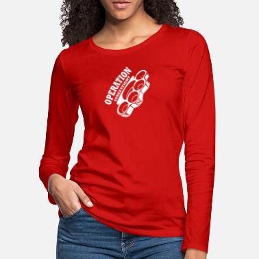 operation streetfight Hools Hooligan Boxen Fight - Women's Premium Longsleeve Shirt
