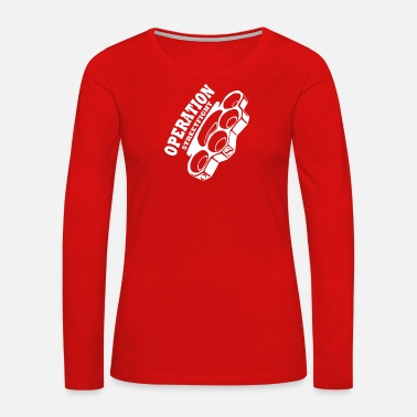 Streetfighter operation streetfight Hools Hooligan Boxen Fight - Women's Premium Long Sleeve T-Shirt