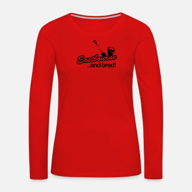 Bred Eastbourne and Bred - Women's Premium Long Sleeve T-Shirt
