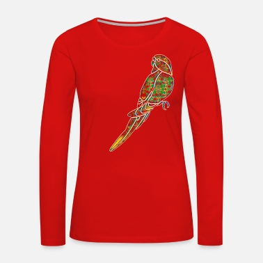 Clever Design Parrot 2 - Women's Premium Long Sleeve T-Shirt