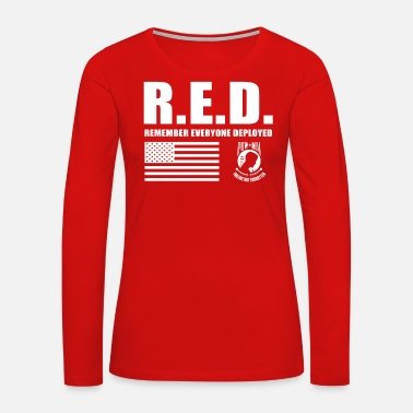 Wear Red Friday Wear Red On Friday - Women's Premium Long Sleeve T-Shirt