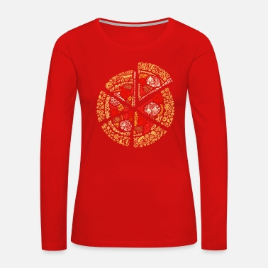 Pizza The Pizza of Pizza - Women's Premium Long Sleeve T-Shirt