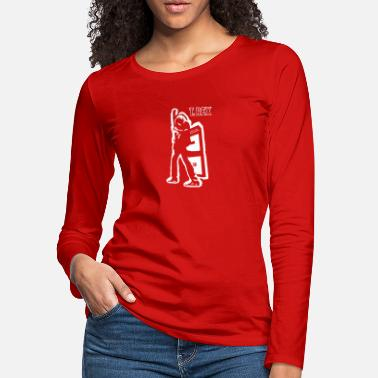 Electric Warrior Slide - Women's Premium Longsleeve Shirt