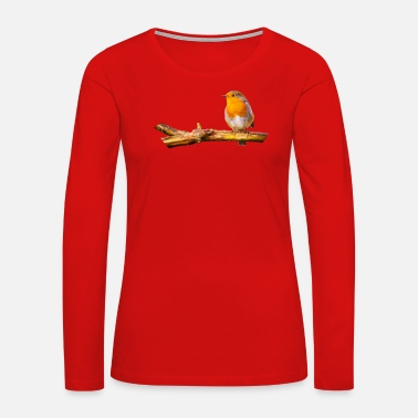 Robin Robin - Women's Premium Long Sleeve T-Shirt