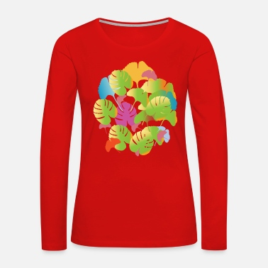 Flora Flora - Women's Premium Long Sleeve T-Shirt