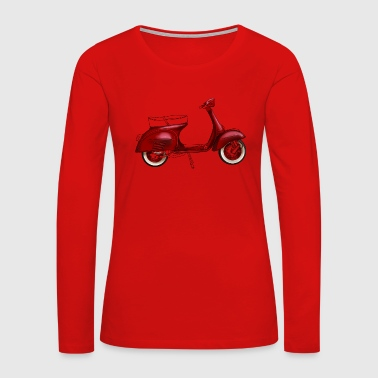 Scooter - Women's Premium Long Sleeve T-Shirt