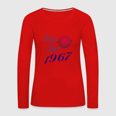 Sexy since 1967 birthday gift year girlfriend - Women's Premium Long Sleeve T-Shirt