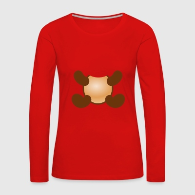 Shirt as costume for monkey lovers - Women's Premium Long Sleeve T-Shirt