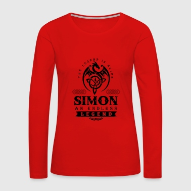 SIMON - Women's Premium Long Sleeve T-Shirt