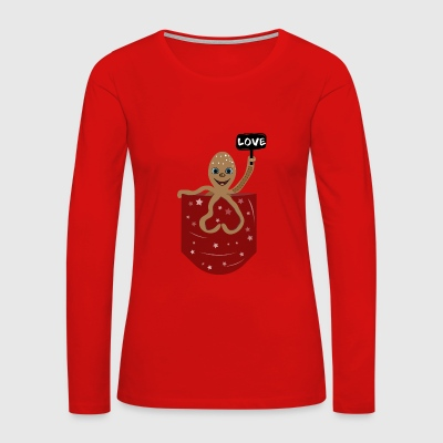 Octopus love - Women's Premium Long Sleeve T-Shirt