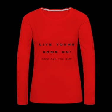 Slogan - Women's Premium Long Sleeve T-Shirt