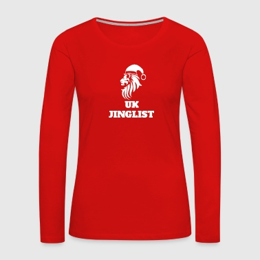 UK Jinglist - Women's Premium Long Sleeve T-Shirt