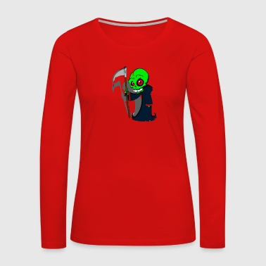 Grim Reaper - Women's Premium Long Sleeve T-Shirt